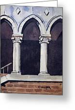 Arches  Greeting Card by Spencer Meagher