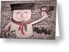 Are You Santa Greeting Card by Rachel Carmichael
