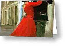 Argentina Tango Greeting Card by James Shepherd