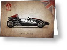Ariel Atom Greeting Card by Mark Rogan