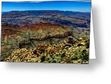 Arizona - Grand Canyon 002 Greeting Card by Lance Vaughn