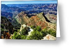 Arizona - Grand Canyon 005 Greeting Card by Lance Vaughn