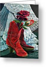 Arizona Rose Greeting Card by Marilyn Smith