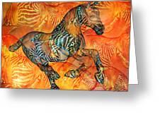 Arizona Sun Greeting Card by Betsy C  Knapp