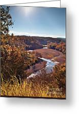 Arkansas Valley Greeting Card by Brandon Alms