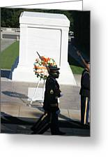 Arlington National Cemetery - Tomb Of The Unknown Soldier - 121213 Greeting Card by DC Photographer