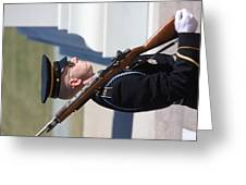 Arlington National Cemetery - Tomb Of The Unknown Soldier - 121228 Greeting Card by DC Photographer