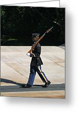 Arlington National Cemetery - Tomb Of The Unknown Soldier - 12124 Greeting Card by DC Photographer