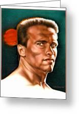 Arnold Greeting Card by Tim  Scoggins