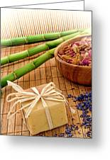 Aromatherapy Soap Bar Greeting Card by Olivier Le Queinec