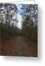 Around The Bend Greeting Card by Neal  Eslinger