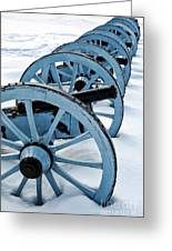 Artillery Greeting Card by Olivier Le Queinec