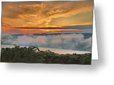 As Morning Breaks Greeting Card by Steven Ainsworth