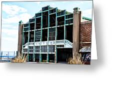 Asbury Park Casino - My City In Ruins Greeting Card by Bill Cannon