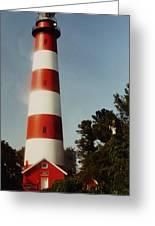 Assateague Lighthouse Greeting Card by Joann Renner