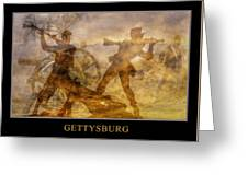 At A Place Called Gettysburg Poster Greeting Card by Randy Steele
