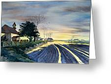 At Eventide Greeting Card by Glenn Marshall