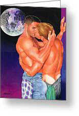 At The Disco Greeting Card by Steven Stines