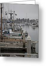 At The Dock Greeting Card by Amanda Barcon