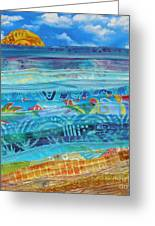 At The Water's Edge Greeting Card by Susan Rienzo