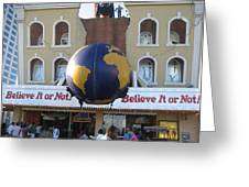 Atlantic City - Ripleys Believe It Or Not - 01139 Greeting Card by DC Photographer