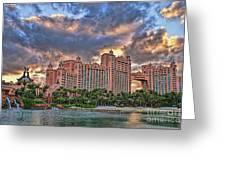 Atlantis Greeting Card by Olga Hamilton