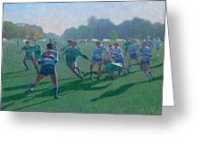 Auckland Rugby Greeting Card by Terry Perham