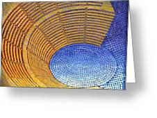 Auditorium Greeting Card by Mark Howard Jones