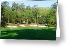 Augusta National - Amen Corner Greeting Card by Bo  Watson