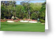 Augusta National - Hole 13 Greeting Card by Bo  Watson