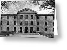 Augustana College Carlsson Evald Hall Greeting Card by University Icons