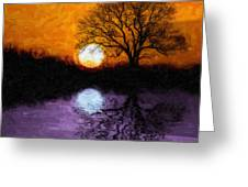 Aurora Goddess Of The Dawn Greeting Card by Tom Mc Nemar