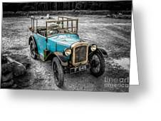 Austin 7 Greeting Card by Adrian Evans