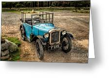 Austin 7 V2 Greeting Card by Adrian Evans