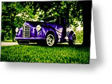 Austin Hot Rod Greeting Card by motography aka Phil Clark