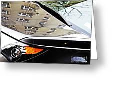 Auto Headlight 98 Greeting Card by Sarah Loft