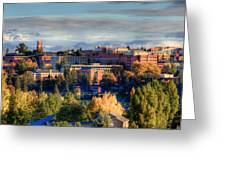 Autumn At Wsu Greeting Card by David Patterson