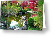 Autumn Dream Greeting Card by Carol Groenen