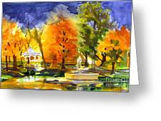 Autumn Gold 2 Greeting Card by Kip DeVore