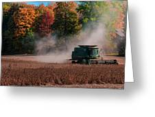 Autumn Harvest Greeting Card by Gene Sherrill