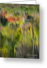 Autumn Impressions Greeting Card by Mike  Dawson