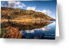 Autumn In Wales Greeting Card by Adrian Evans