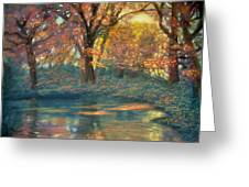 Autumn Light Greeting Card by Wade Starr
