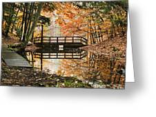 Autumn Pleasure Greeting Card by Christina Rollo