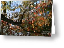 Autumn Reflections Greeting Card by Neal  Eslinger