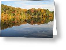 Autumn Reflections Greeting Card by Vicki Kennedy