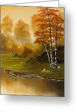 Autumn Splendor Greeting Card by C Steele