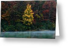 Autumn Splendor Greeting Card by Shane Holsclaw