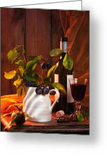 Autumn Still Life Greeting Card by Amanda And Christopher Elwell