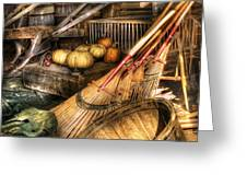 Autumn - This years harvest Greeting Card by Mike Savad